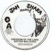 "7"" Sister Beloved/Young Warrior -- Freedom Of The Land"